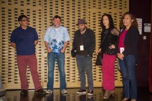 Crew for H.O.M.E, winner of HIFF New York Showcase Award