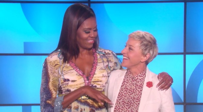 #MorningInspiration: Ellen and First Lady Michelle Obama Go Shopping